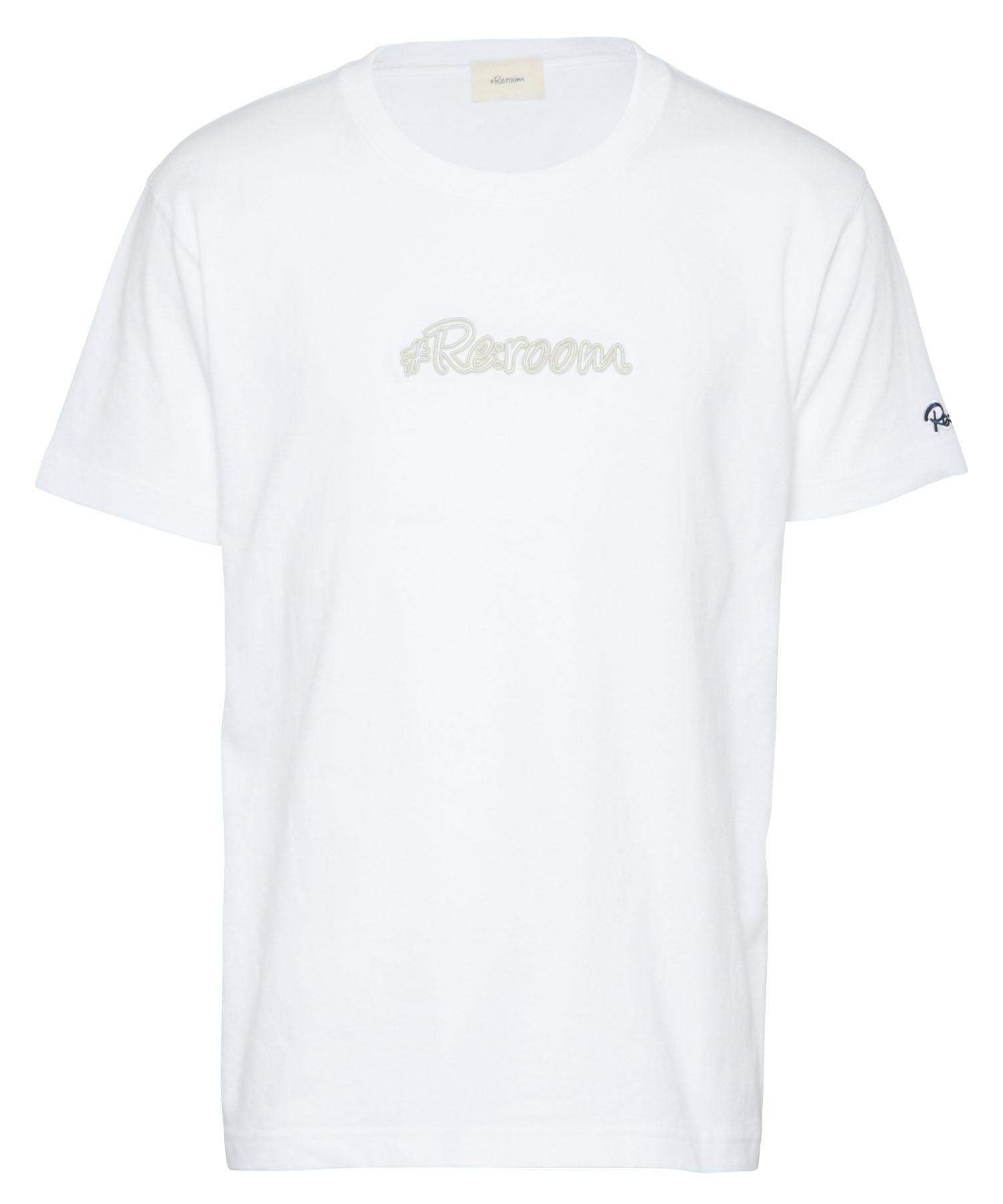 3D LOGO FRAME EMBROIDERY T-shirt[REC478]