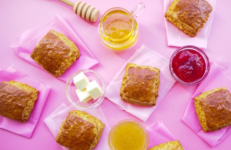 3月分の予約開始『おうちスコーン』フィナンシェスコーン14個入※おいしさ瞬間冷凍でお届けします!