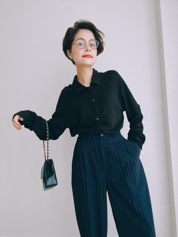 (KN189)BANANA REPUBLIC Knit shirt