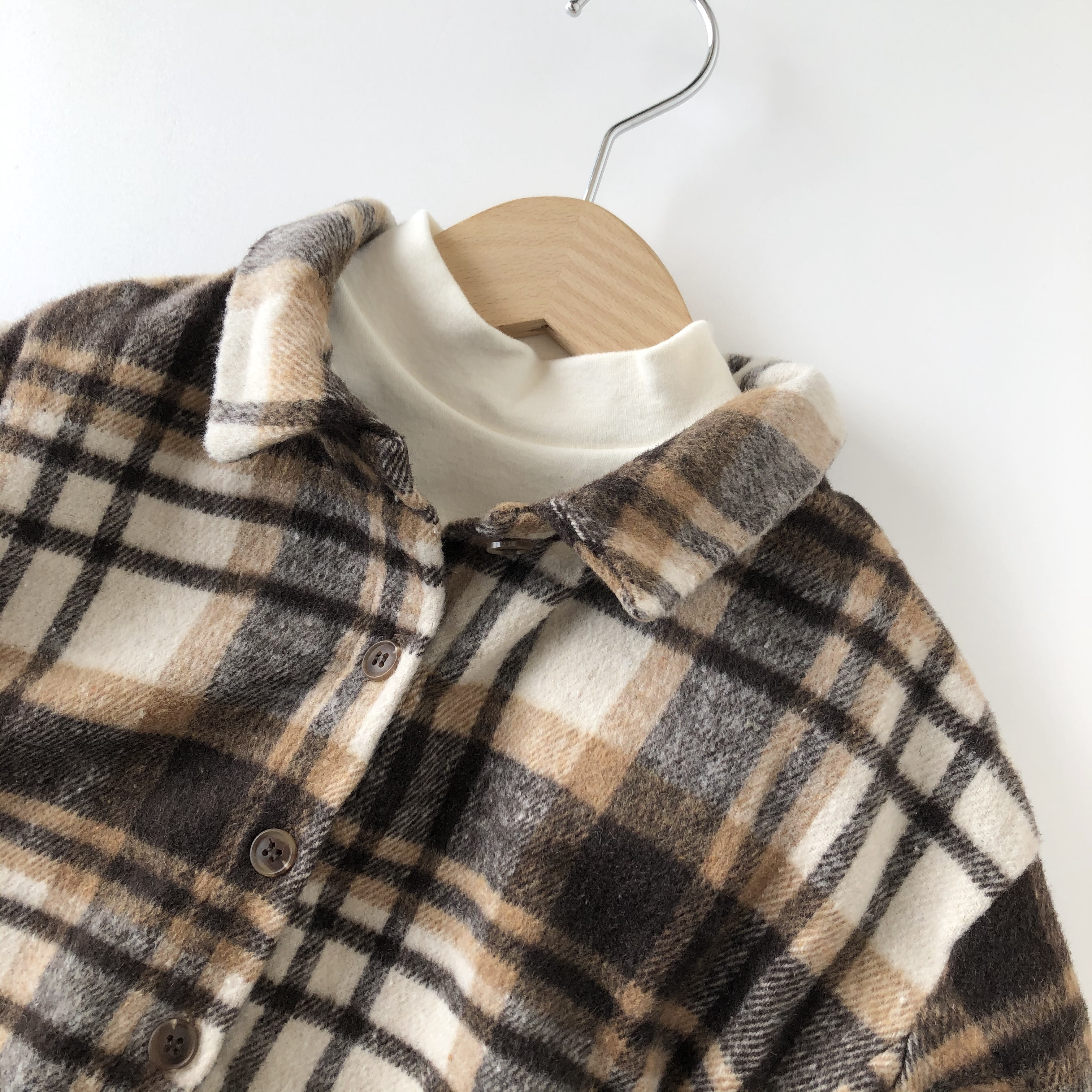 NO,991 Check shirt
