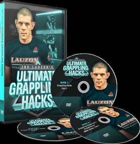 ULTIMATE GRAPPLING HACKS BY JOE LAUZON (3 DVD SET)