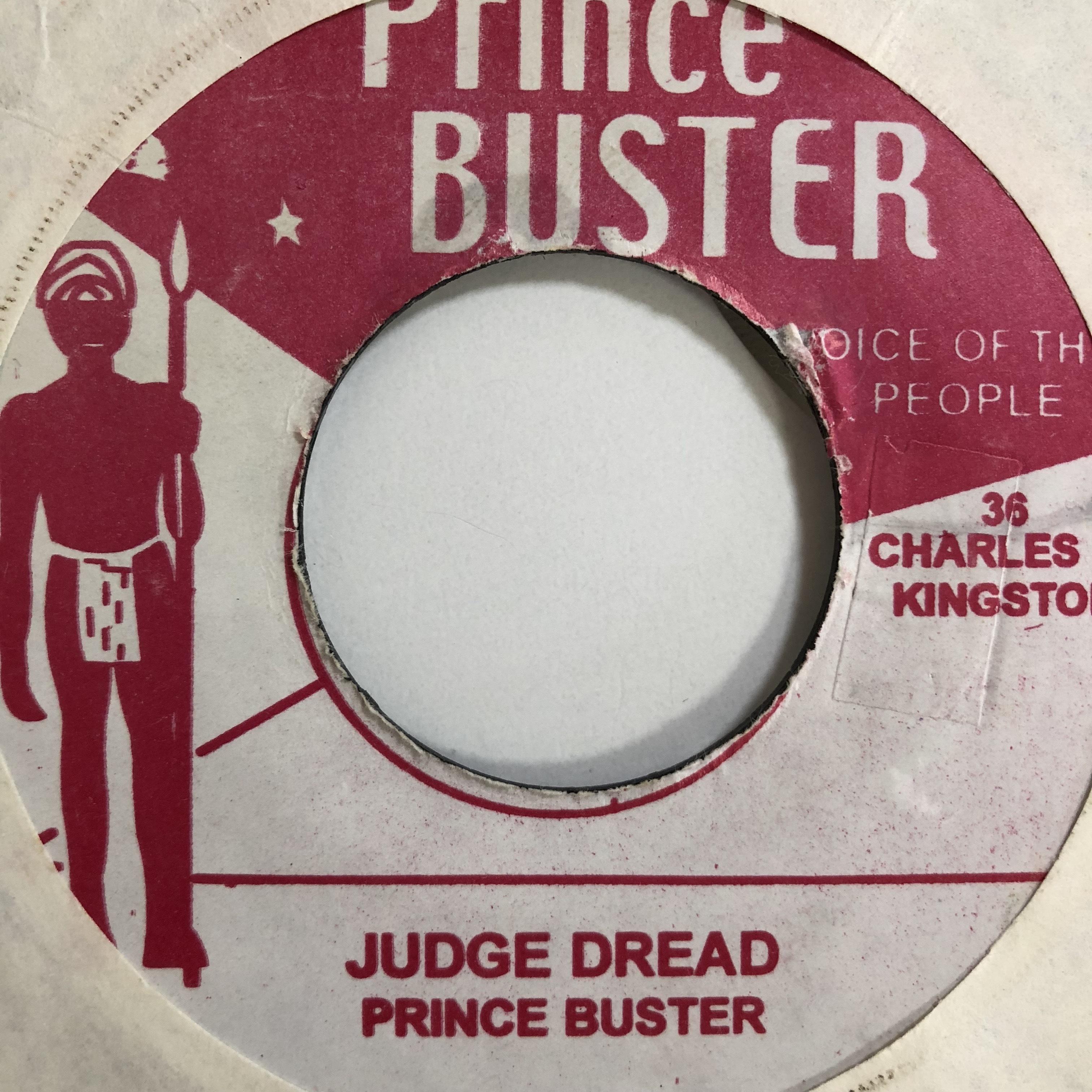 Prince Buster(プリンスバスター) - Judge Dread【7'】