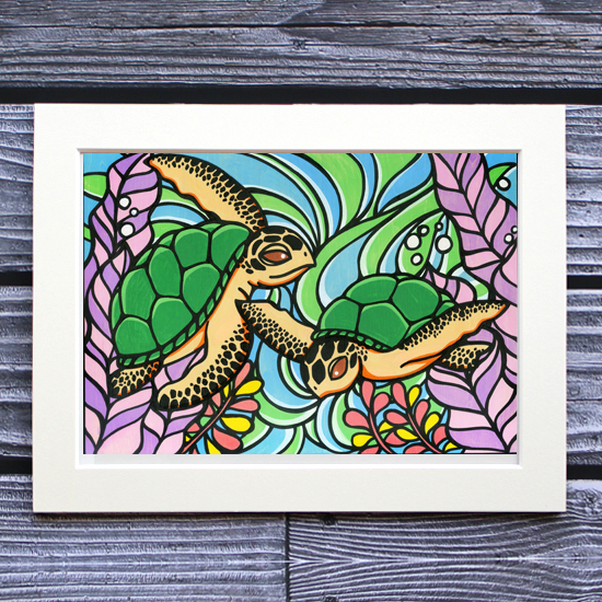 TAMO アートプリント 260×349mm(Honu Brothers)