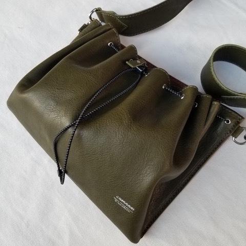 【saranam】drawstring bag / 【サラナン】ドローストリングバッグ