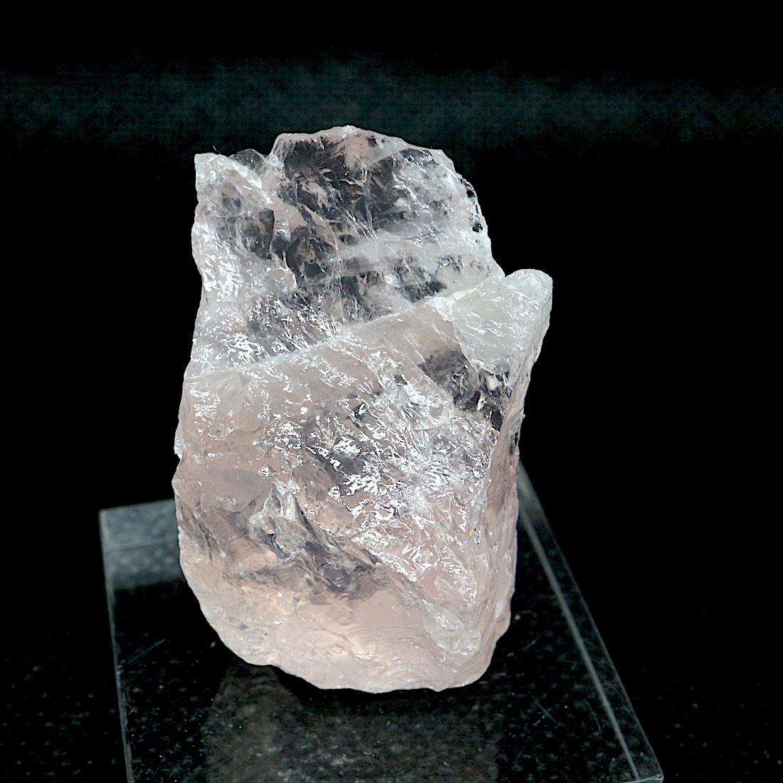 ブラジル産 スター ローズクオーツ 紅水晶 23,5g RSQ020 鉱物 原石 天然石 パワーストーン