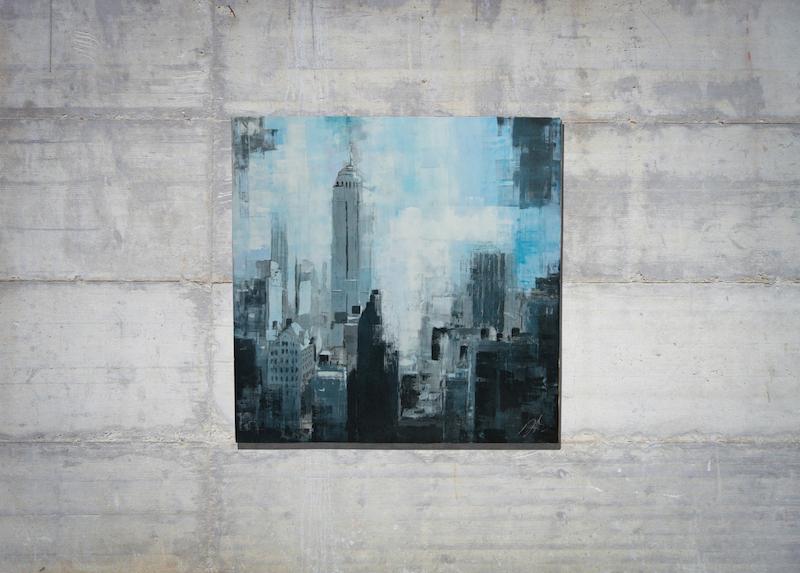 New York, city scape composition #9 (額入り特別作品)
