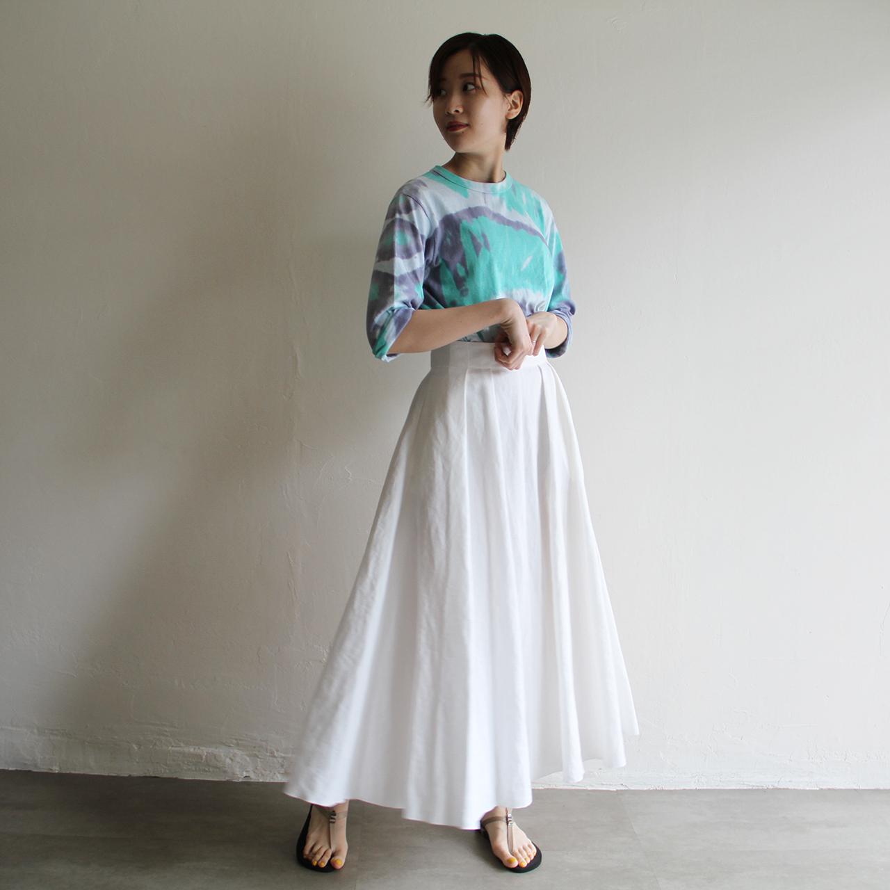 UNION LAUNCH【 womens 】linen flare skit