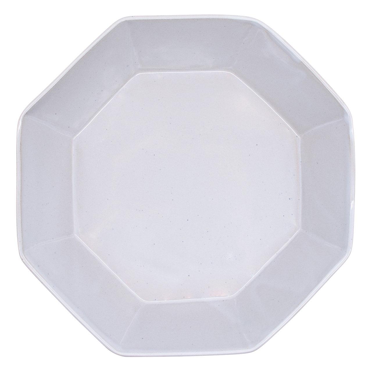 笠間焼 向山窯 オクタン パスタ皿 プレート L 約22cm グレー 255701