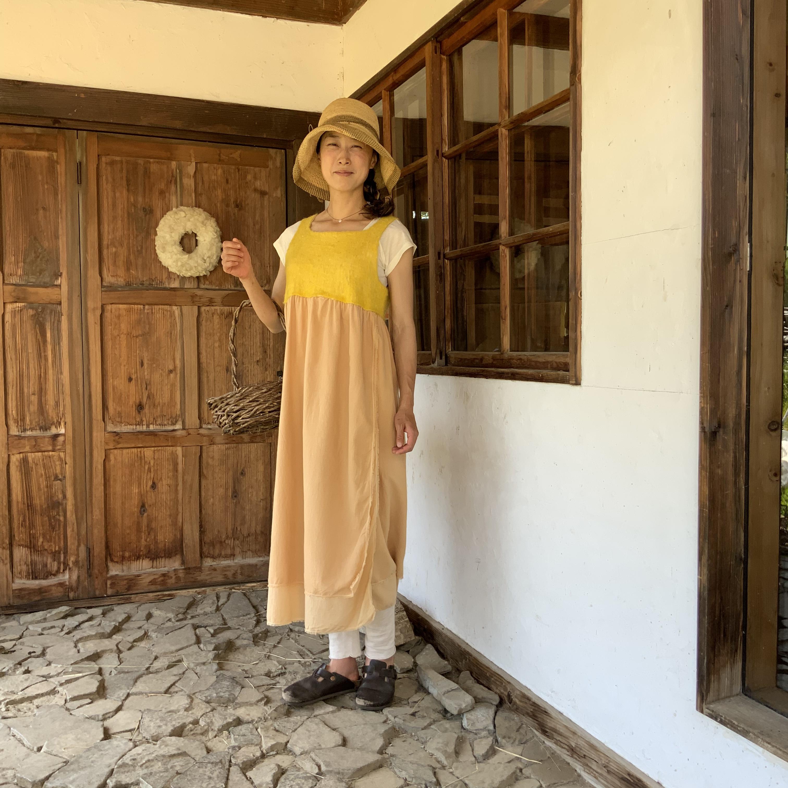OPCL2-21005 ワンピースコリーヌ 黄色