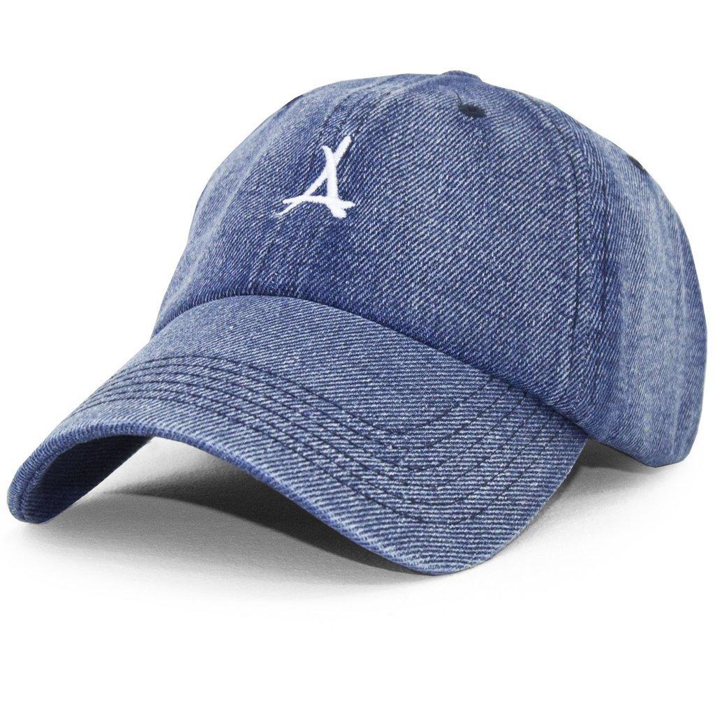 LOGO DAD HAT (BLUE DENIM)