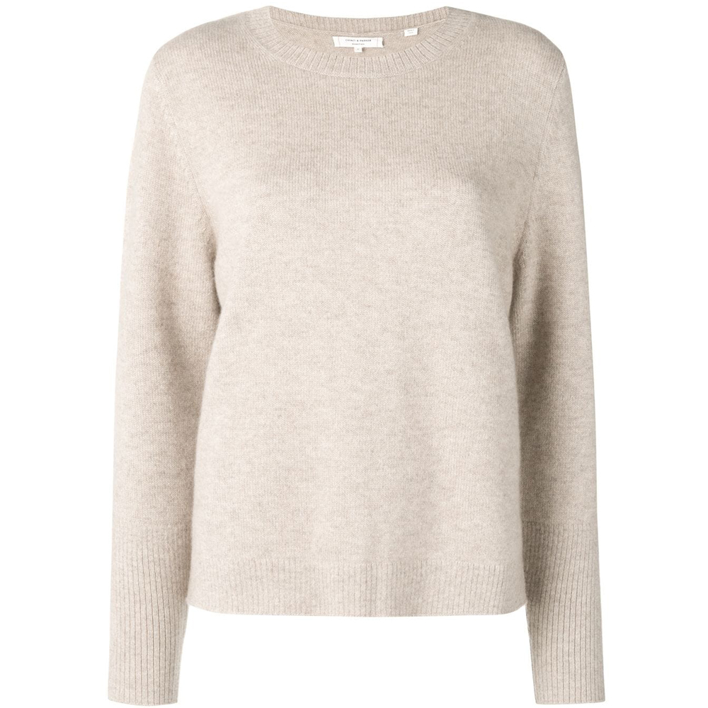 Chinti&Parker THE BOXY KNIT OATMEAL