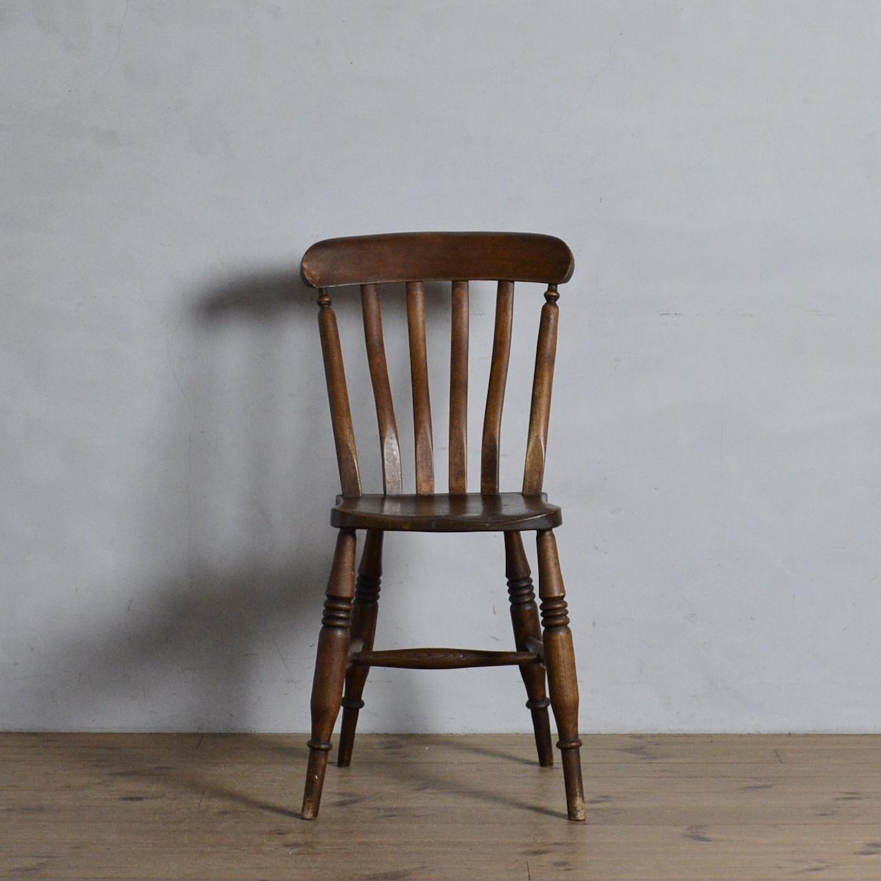 Kitchen Chair / キッチン チェア【A】〈ダイニングチェア・ウィンザーチェア・デスクチェア・椅子・カントリー〉 112066