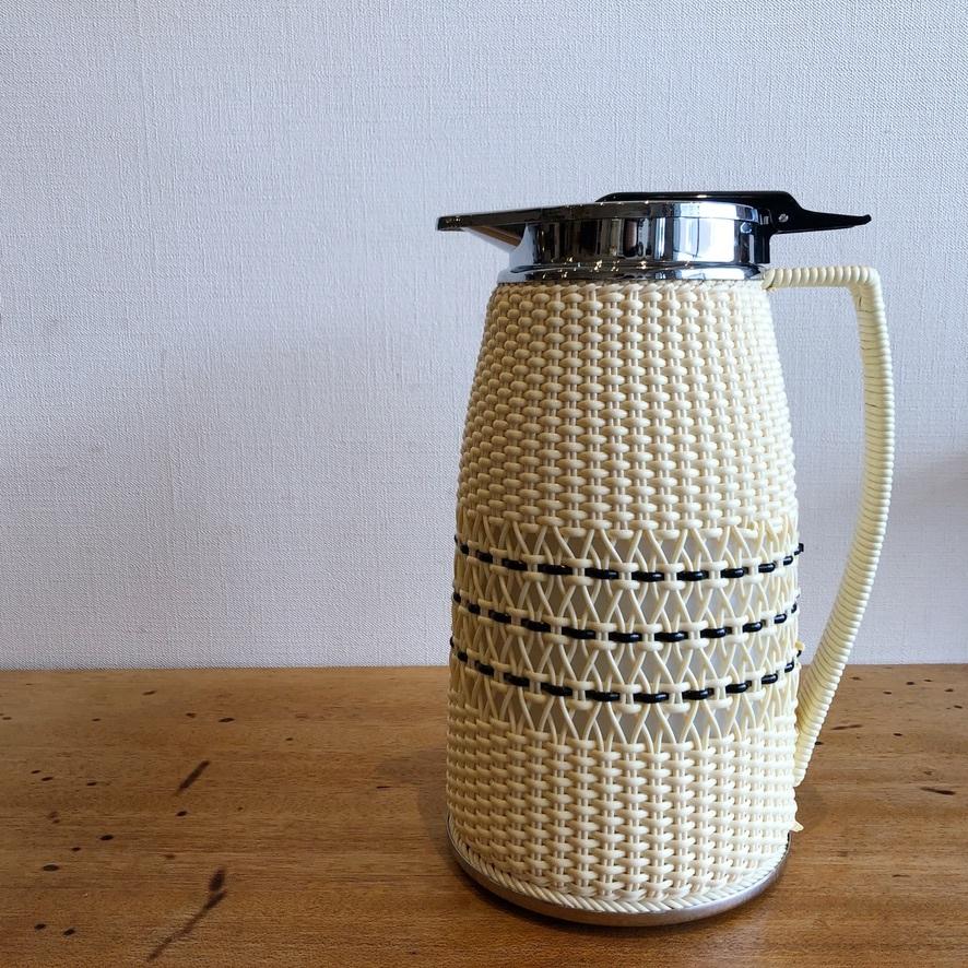 ヨット 手編み魔法瓶