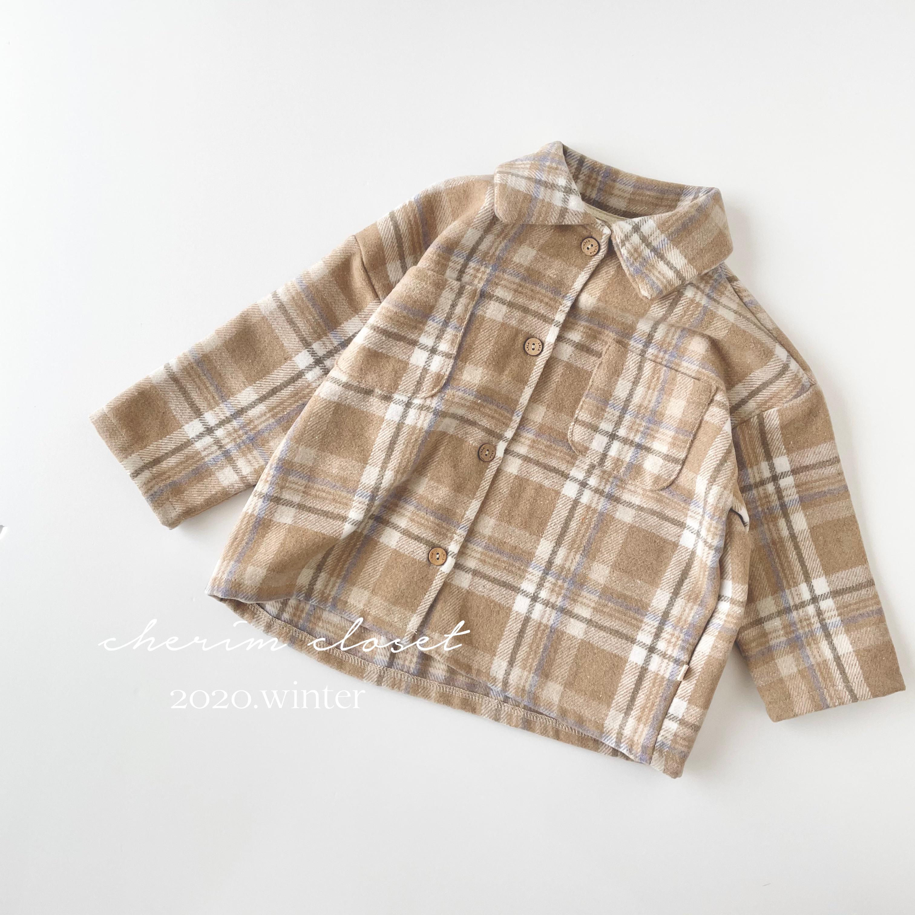 NO.1111 Check shirt