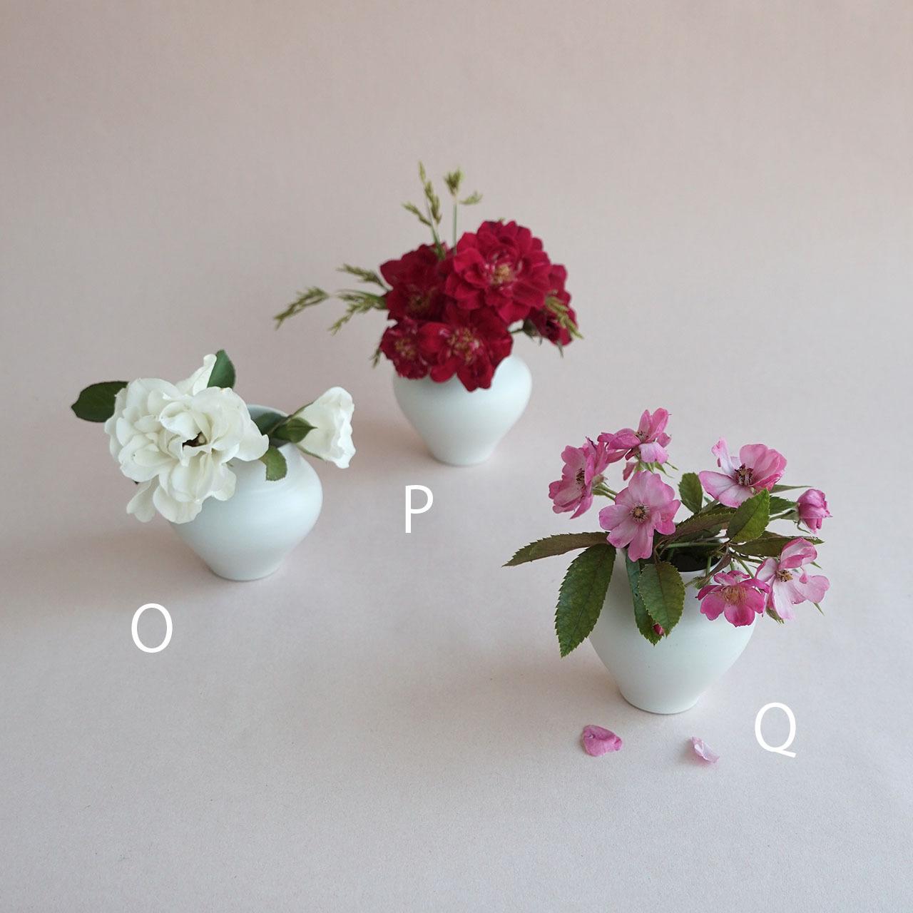 ミニ花瓶 O P Q 【studio wani】