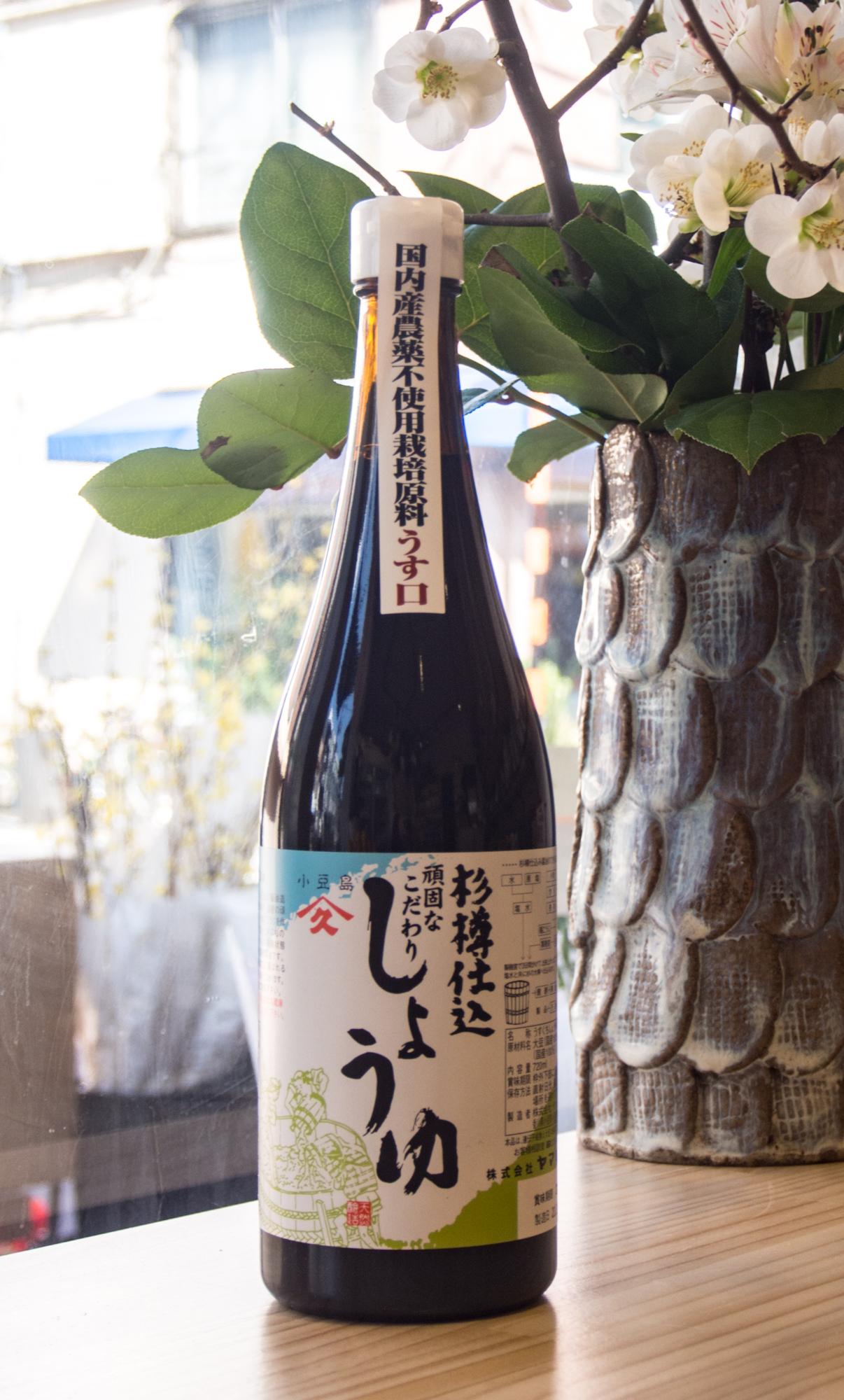 香川県・小豆島『うす口醤油』