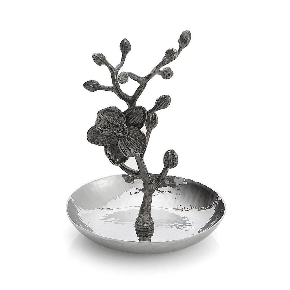 Michael Aram Black Orchid Ring Catch (マイケルアラム ブラックオーキッド リングキャッチ)110831