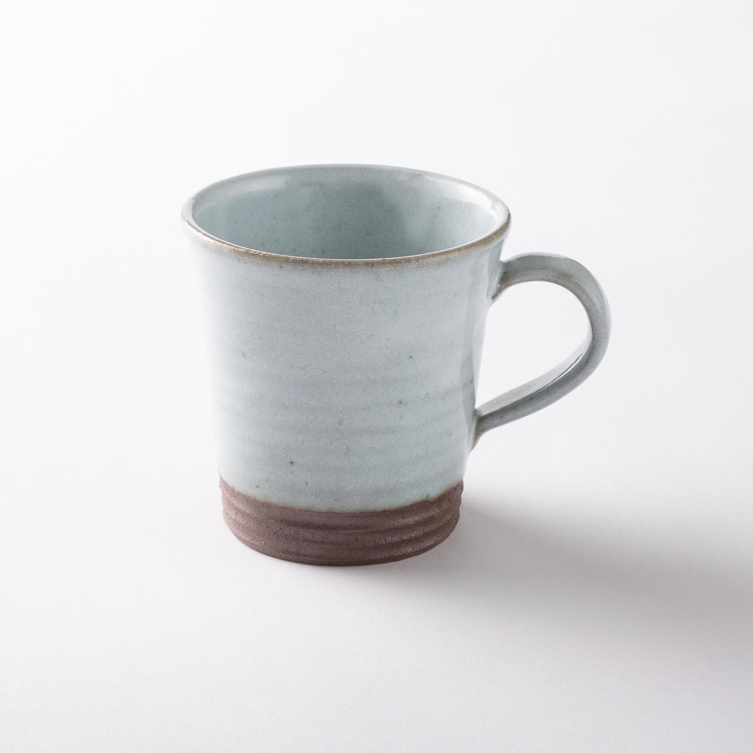 【瀬戸焼】マグカップ「ホワイトスモーク マグカップ」