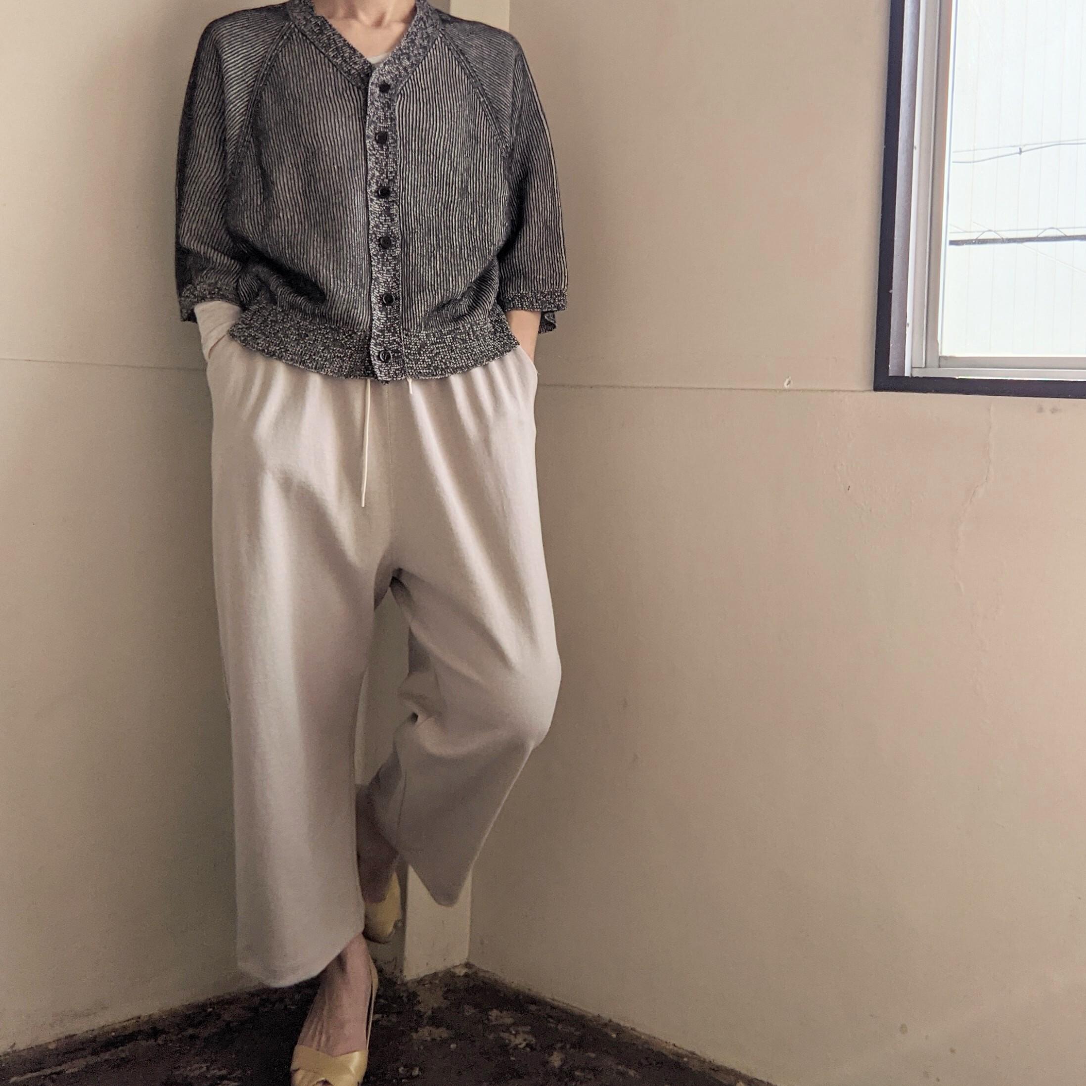 ☆BEIGEのみ☆【 CLOSELY CLICK PEBBLE 】クロースリークリックペブル / easy tapered pants / イージーテーパードパンツ / beige,navy