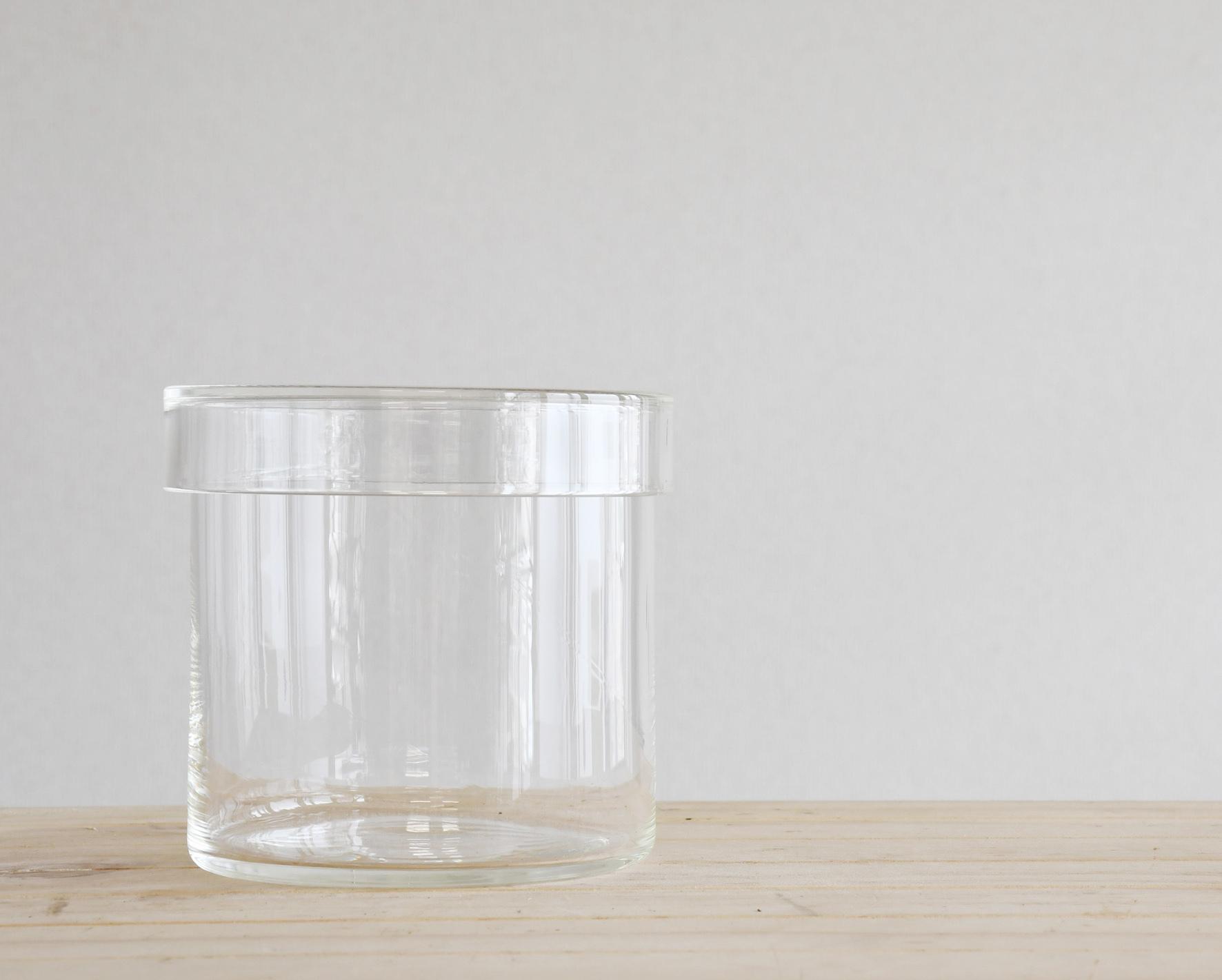【小泉硝子製作所 理化学ガラス容器】futa to mi 90x90