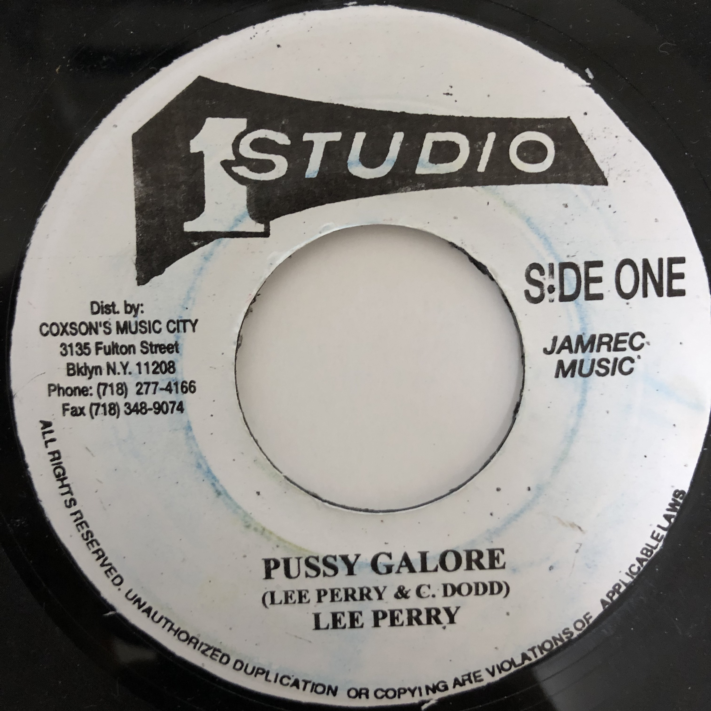 Lee Perry - Pussy Galore【7-20430】