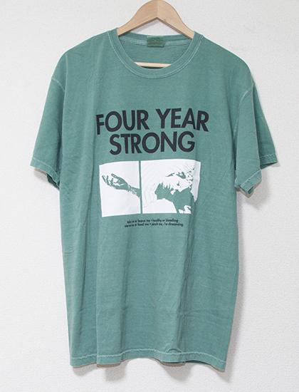 ※Restock【FOUR YEAR STRONG】Brain Pain T-Shirts (Light Green)