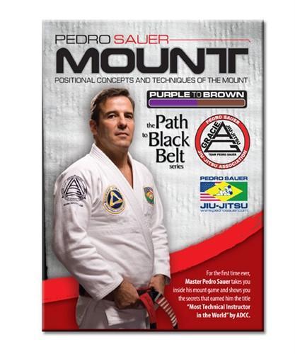 ペドロ・サワー ザ・マウント The Mount 2枚組DVD ブラジリアン 紫→茶帯を目指す人向け 柔術教則