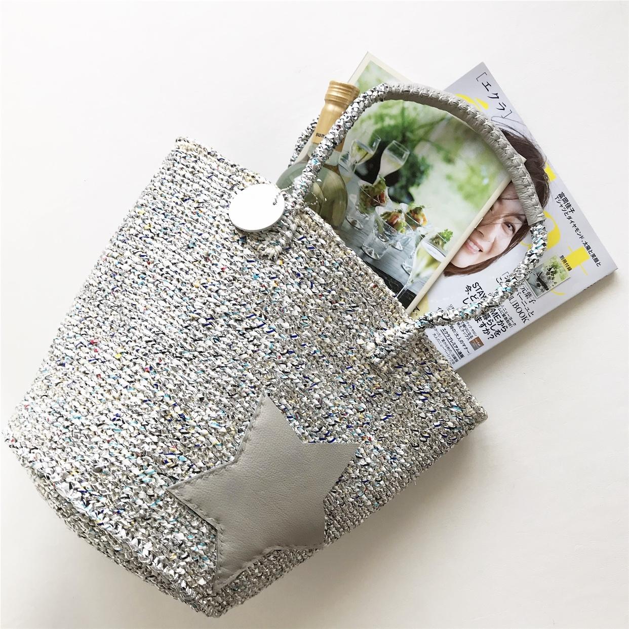 [ 限定カラー&即納 ] ショルダーBag  / Pocket Star / silver mix