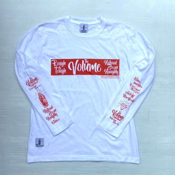 VOLUME ORIGINAL / 0864SOCAL LONG SLEEVE Tee