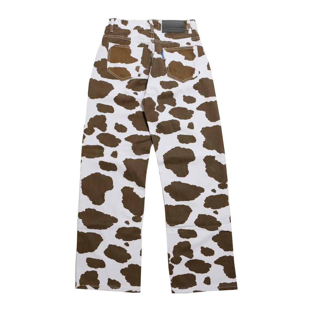 【Cat & Parfum】Cowboy Washed Straight Pants