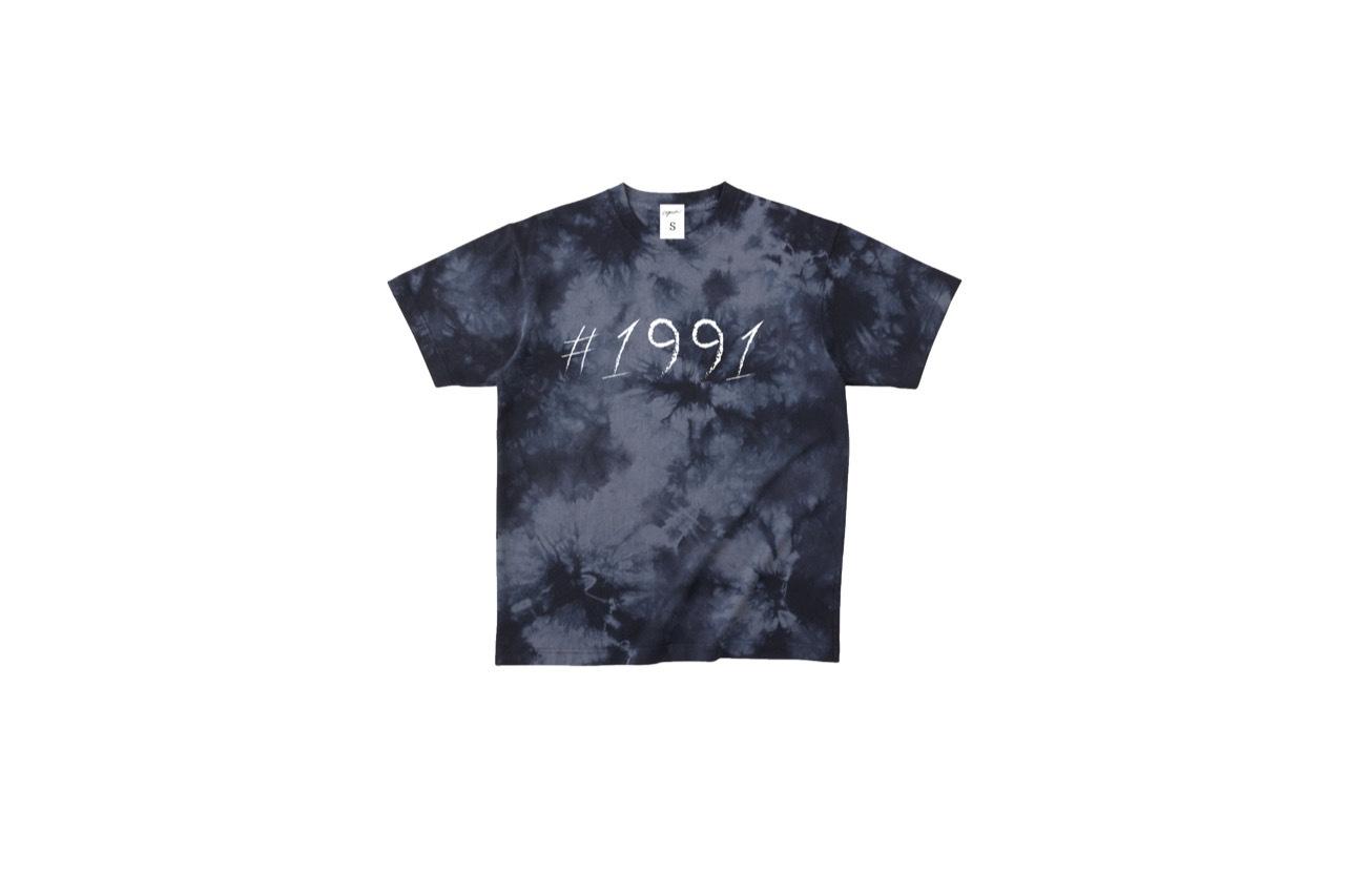 1991 tiedye T-shirt (BLK)