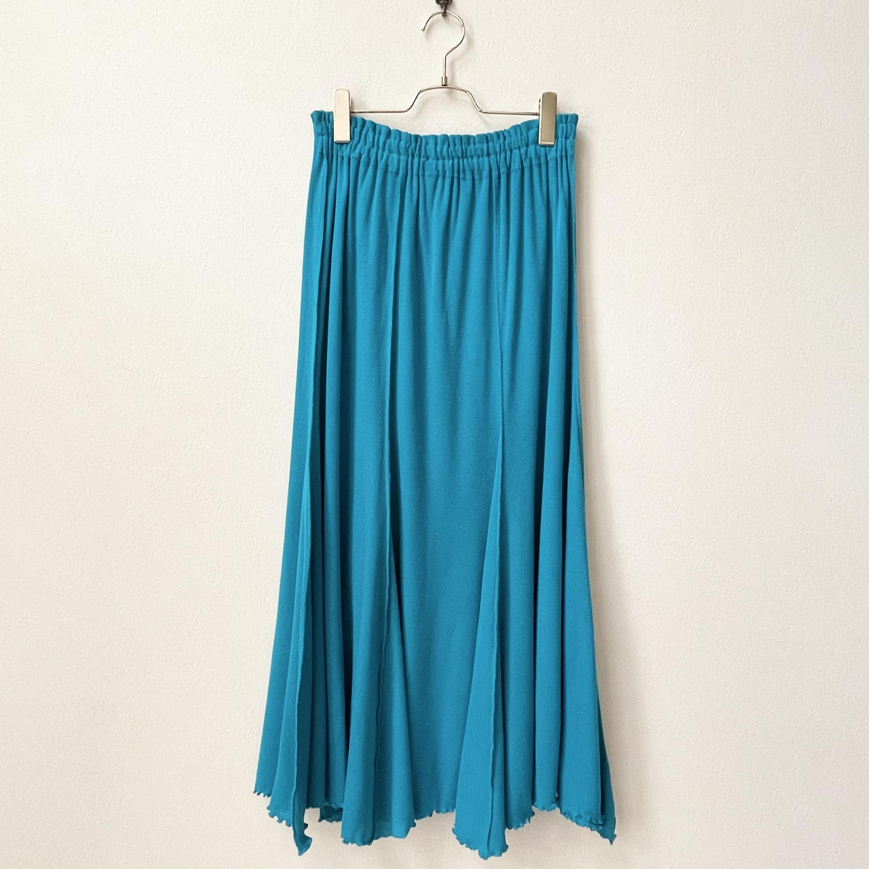 80年代 USA製 イージー ギャザースカート 古着 日本M〜L