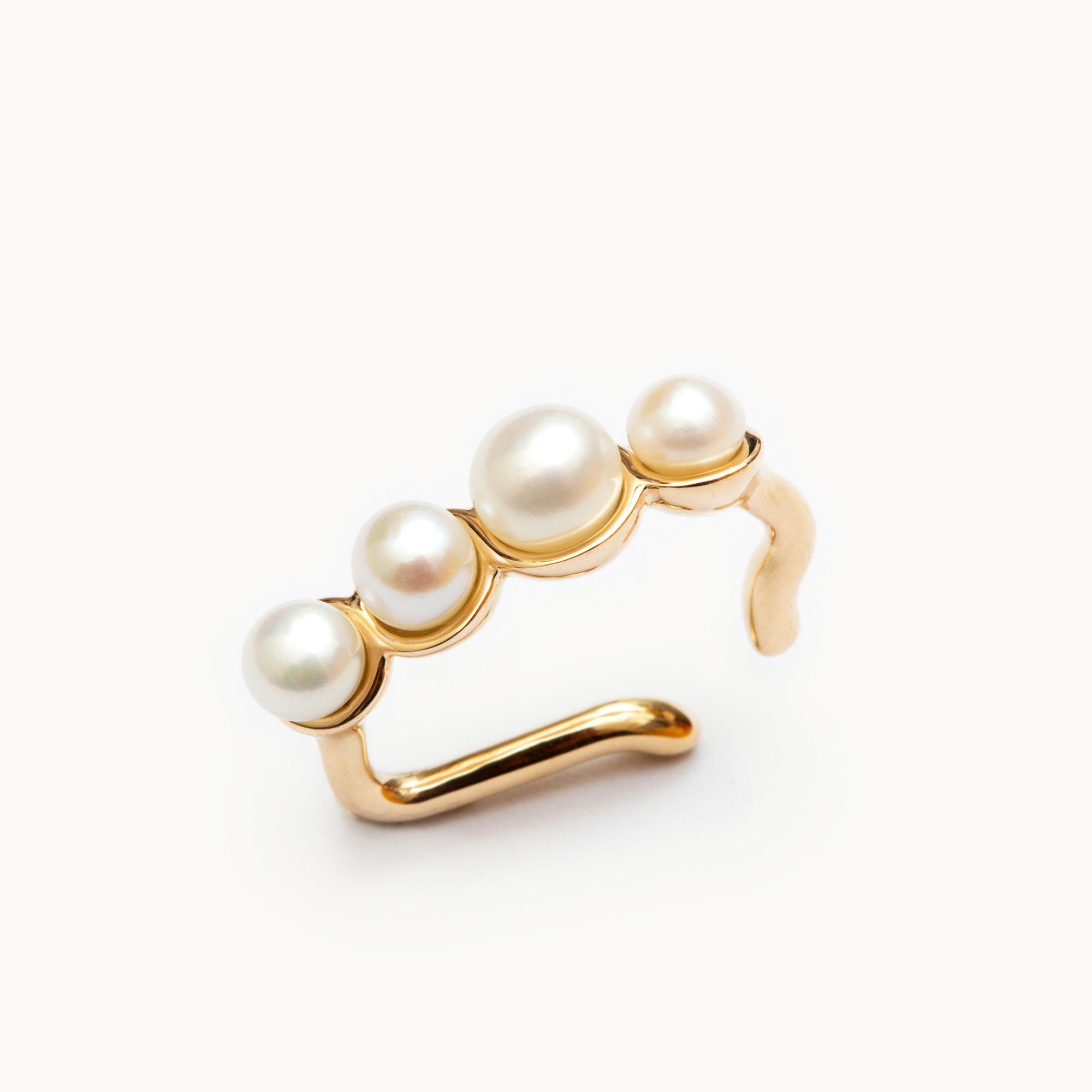 Pearl Ear Cuff|イヤーカフ  - art.1803C173030