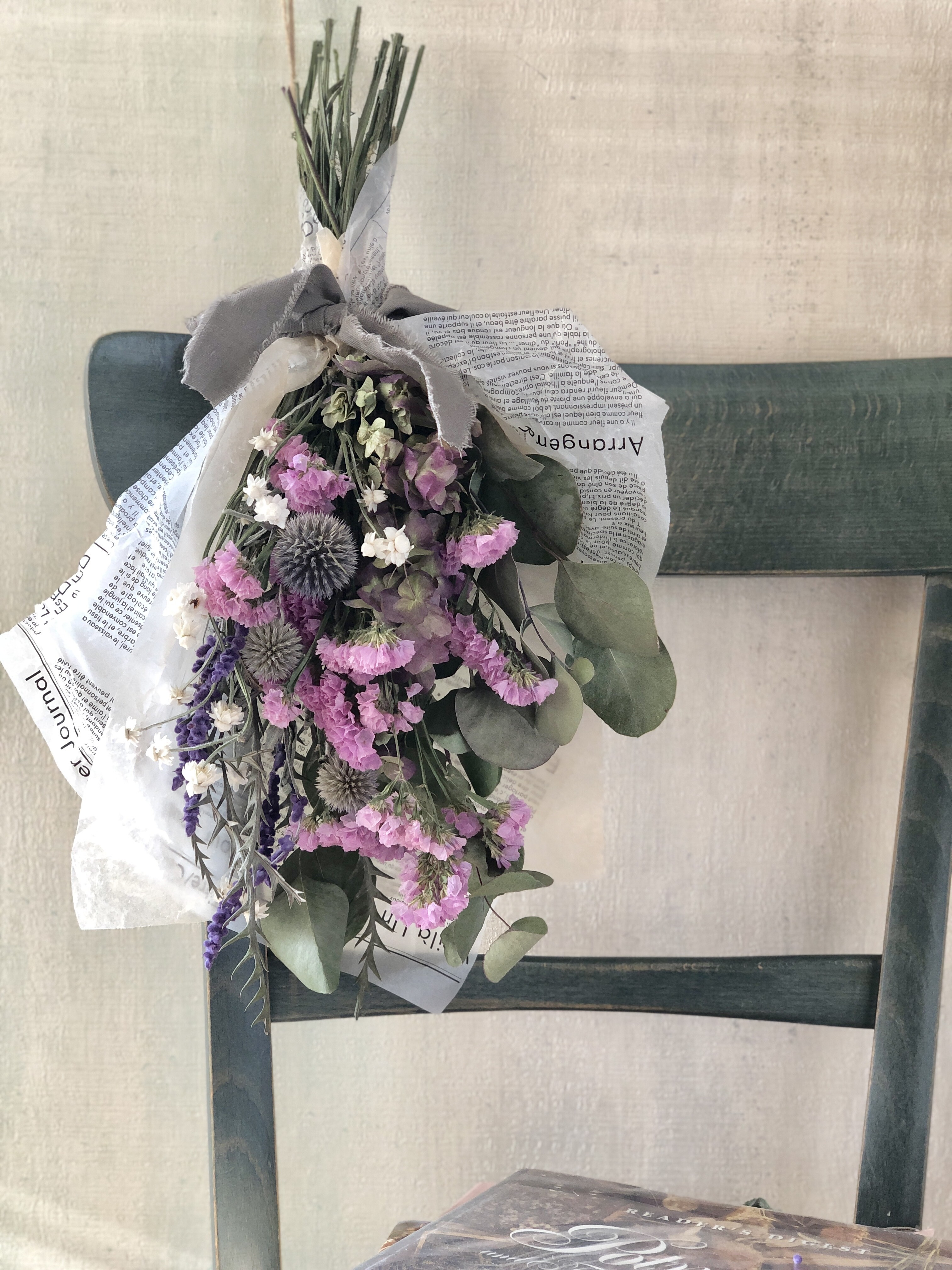(Re:II)限定商品 / Dried Flower スワッグ Type:F