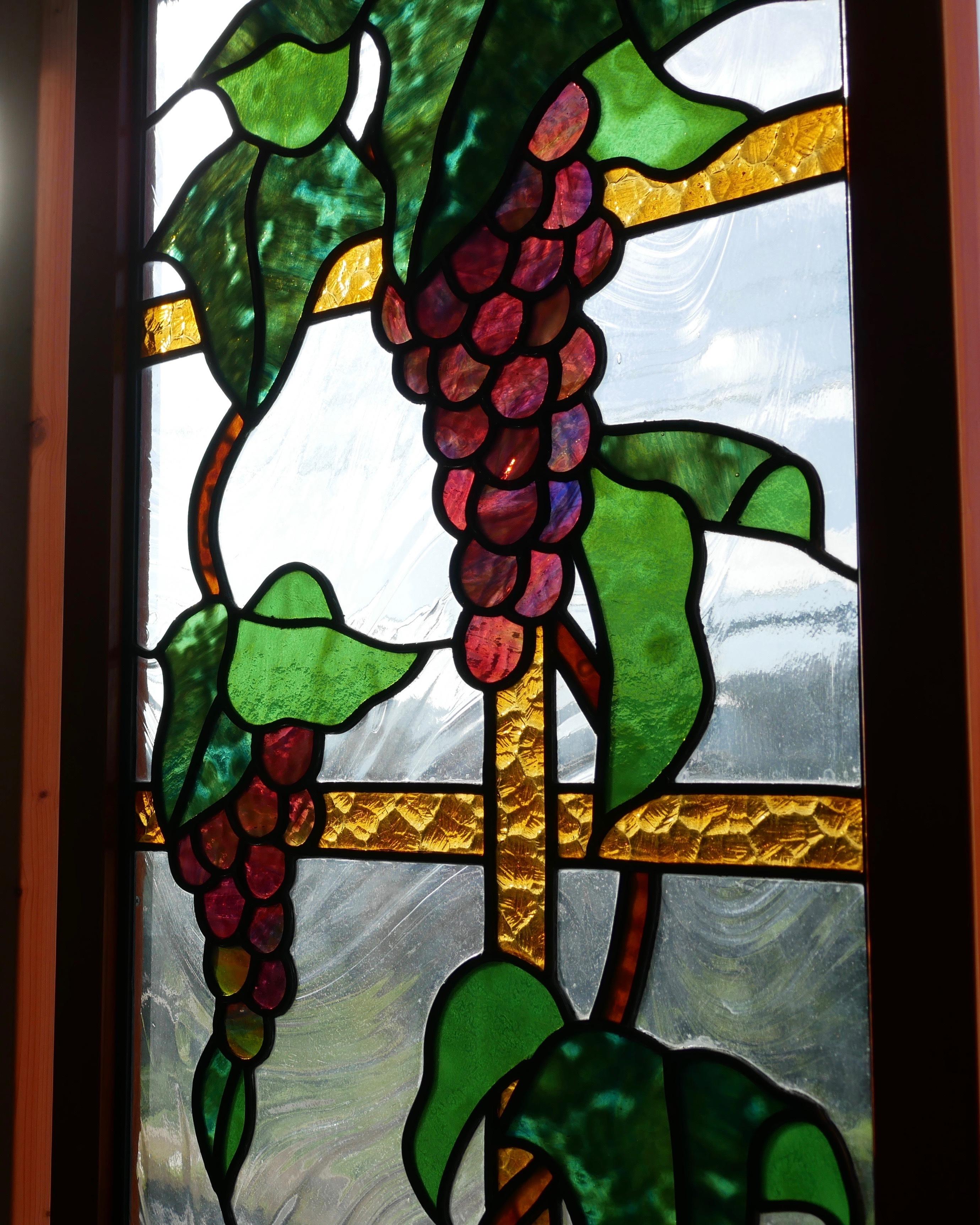 ブドウのパネル