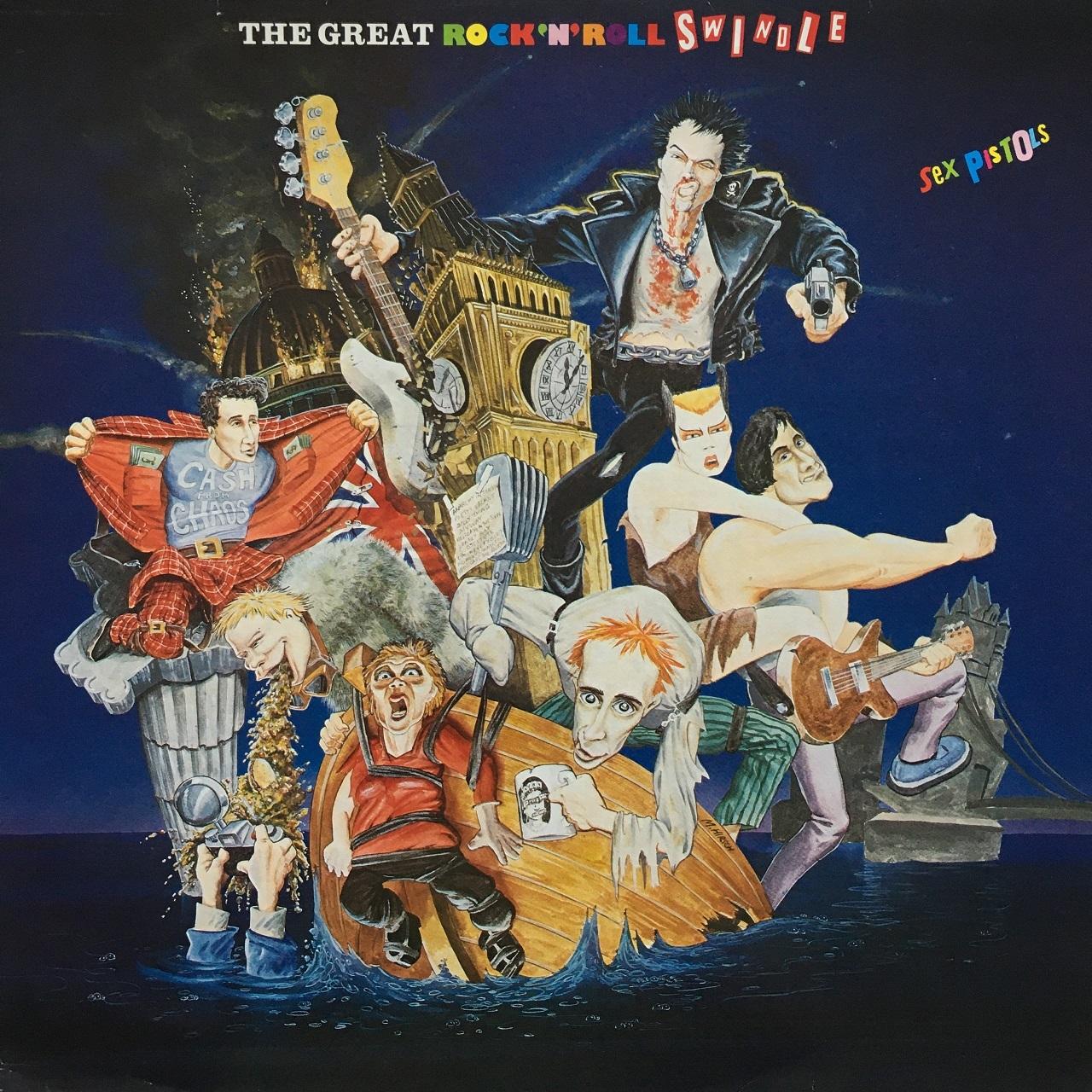 【LP・英盤】Sex Pistols / The Great Rock 'N' Roll Swindle