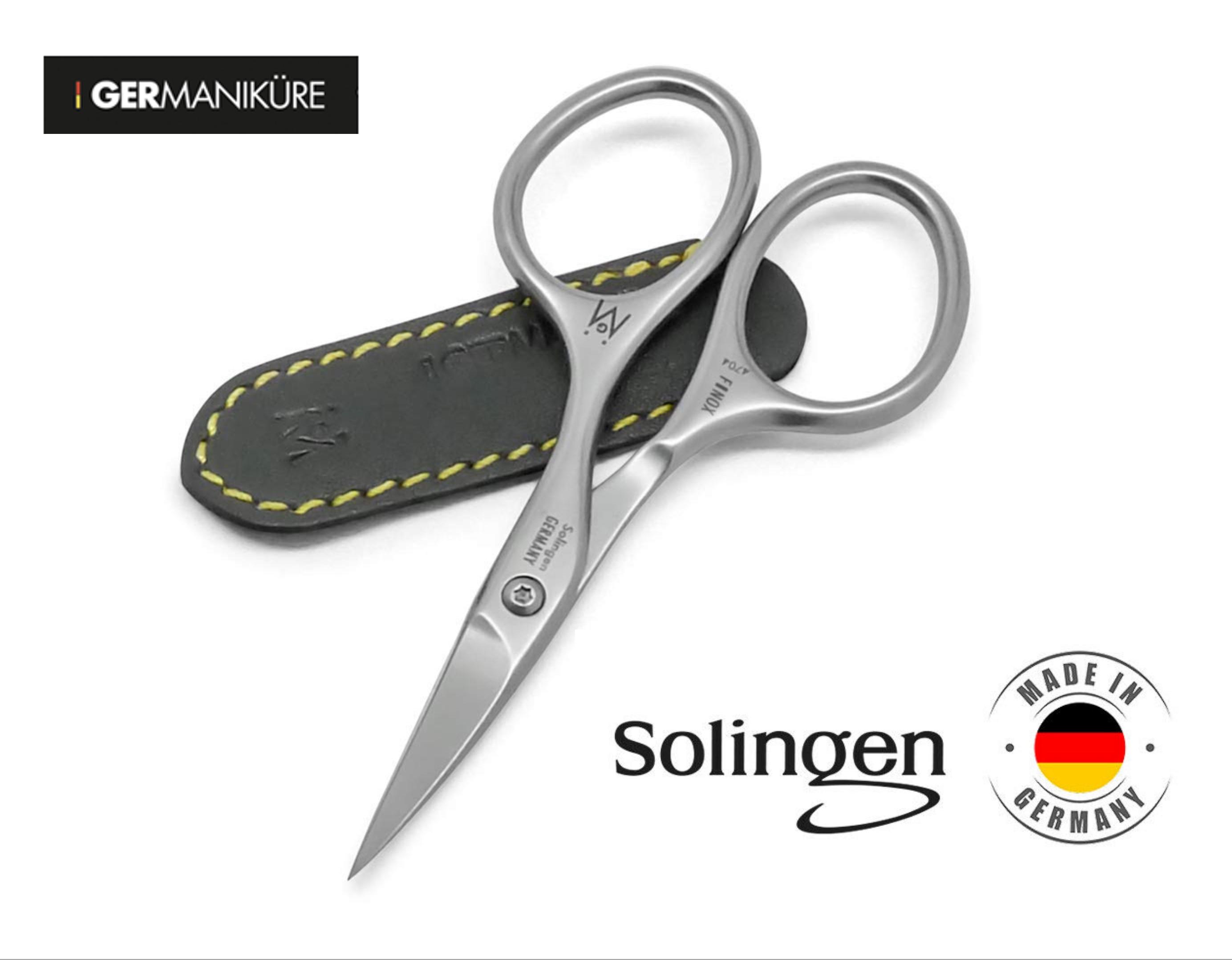 GERmanikure Solingen- FINOX Professional Scissors 94-30 Curved 4703