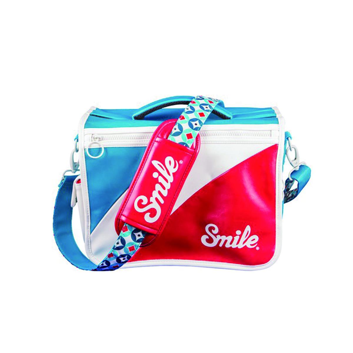 スマイル リバーシブル カメラバッグ L Mod 【Smile Camera Bag L】 sml1712141wh