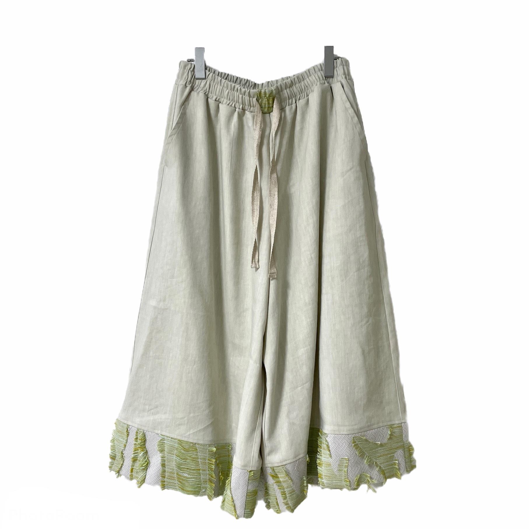 Wide-Pants1.0 (ivory/inbi green)