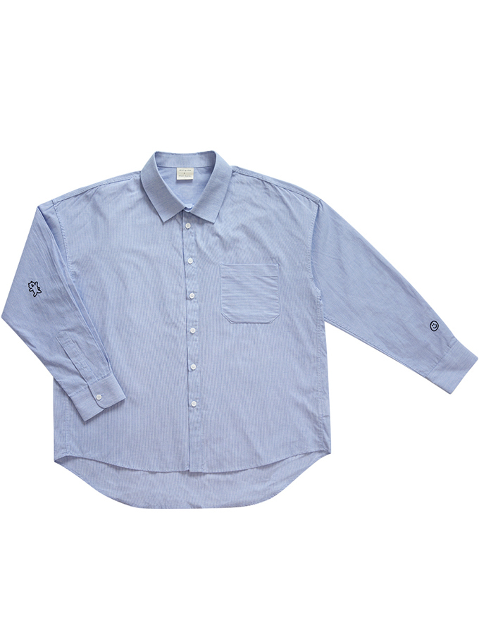 【inapsquare】SHIRTS LOVE BLUE