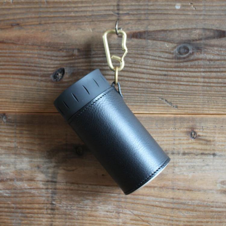 サーモス(THERMOS)保冷缶ホルダーレザーカバー(500ml)