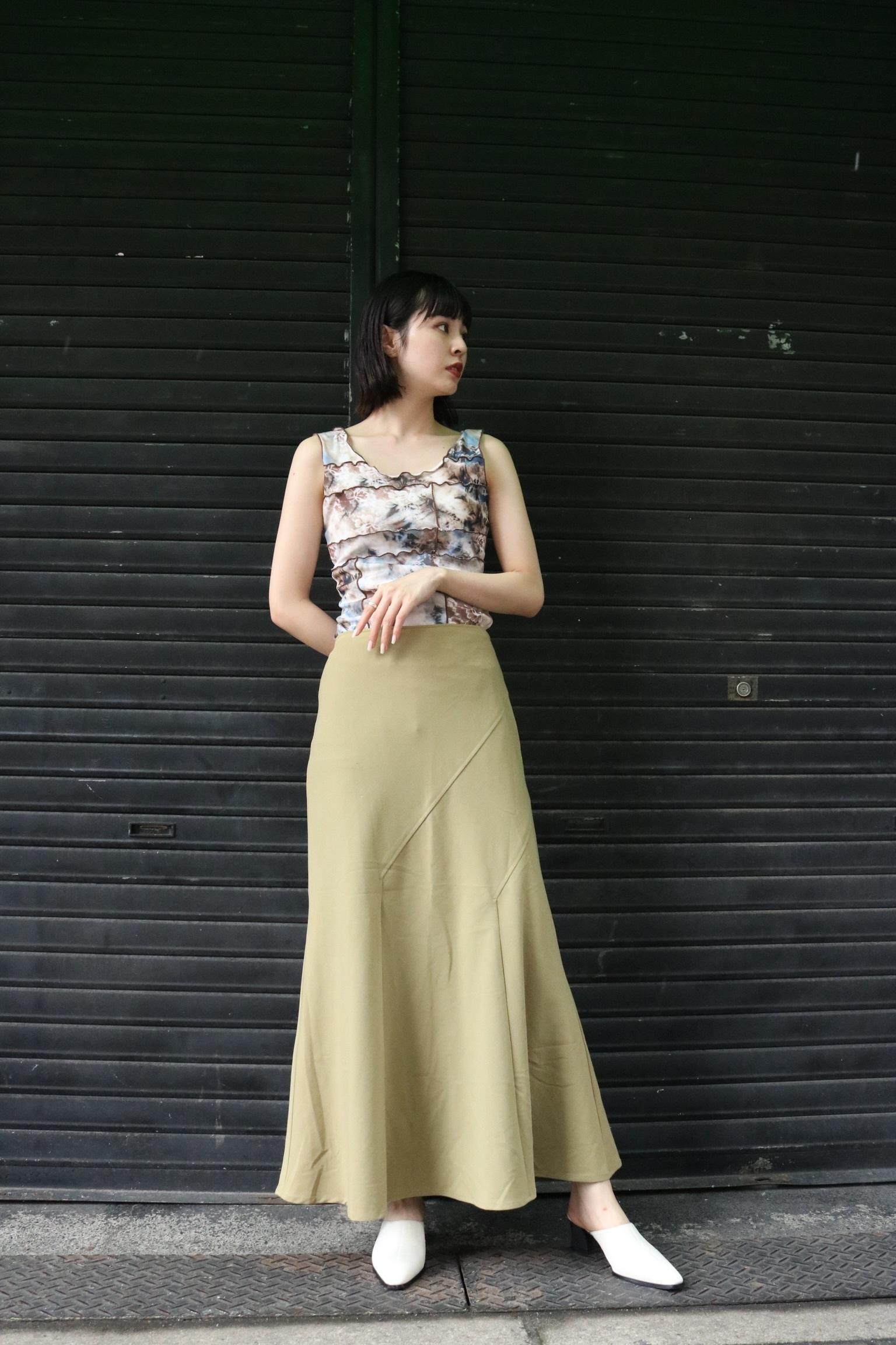 flare skirt / 7SSSK09-20