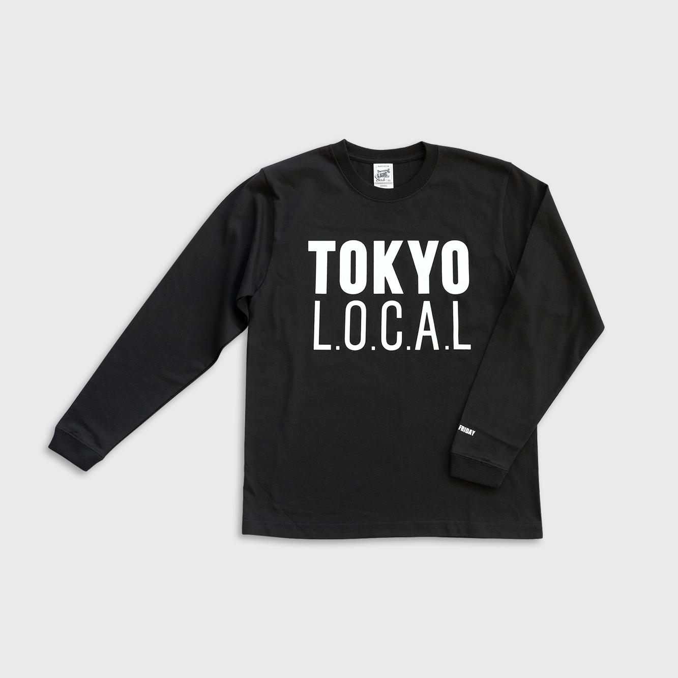 「ベーシックロゴ」TOKYO L.O.C.A.L ロングスリーブTシャツ
