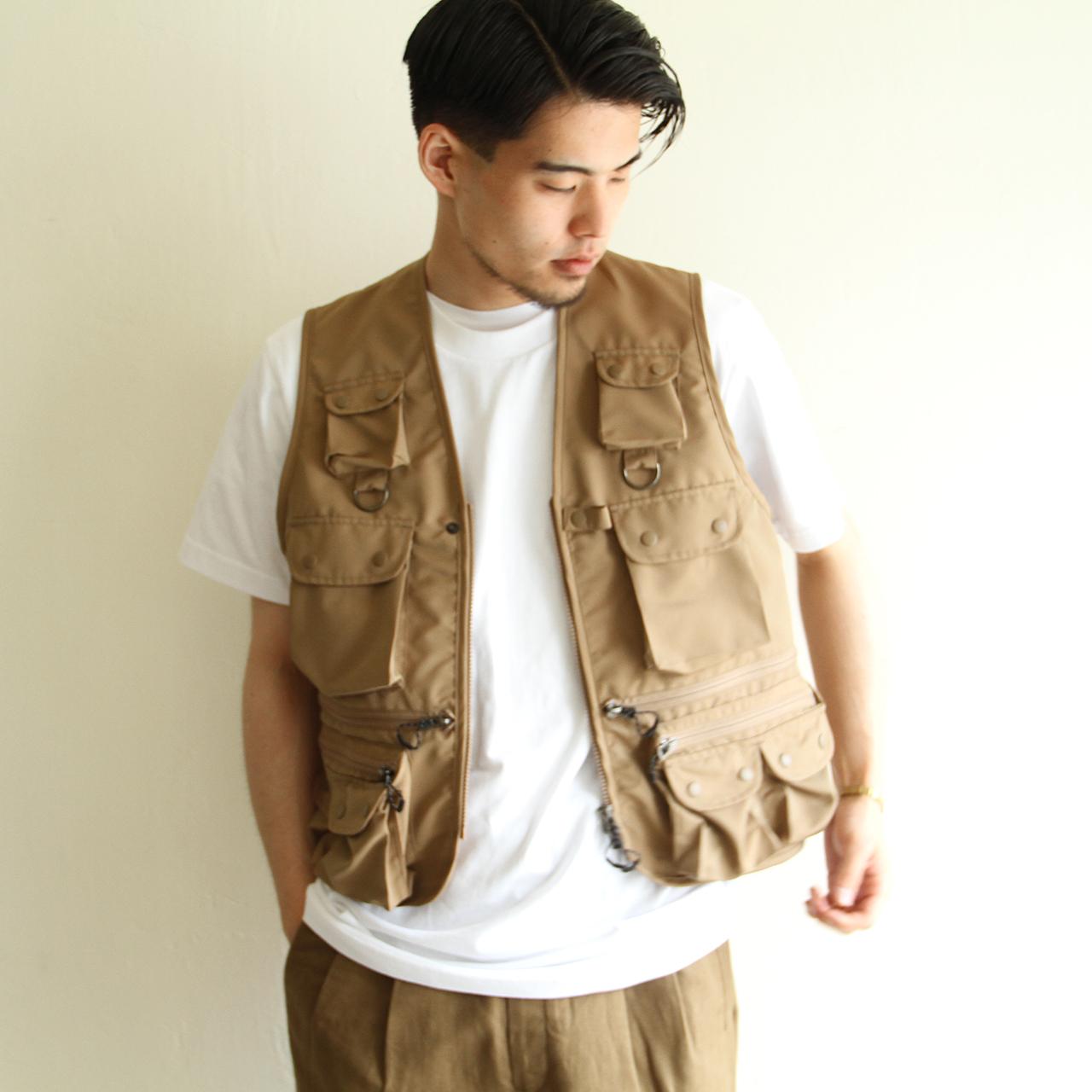STAMMBAUM【 mens 】fishing vest