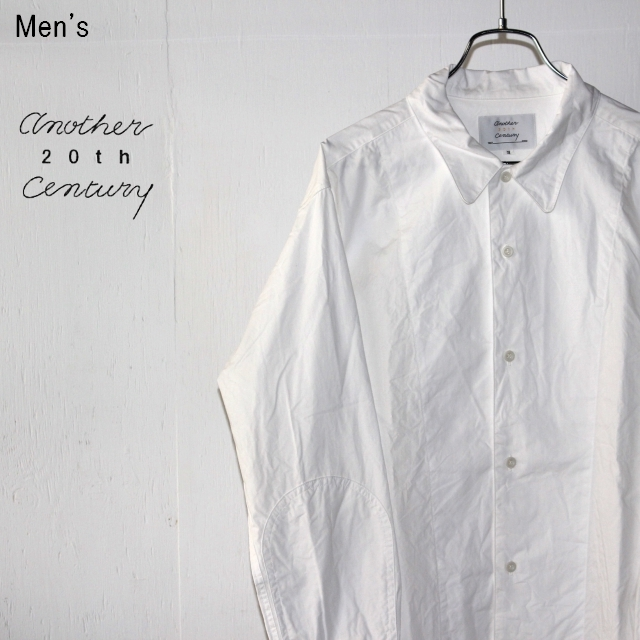 another 20th century デスクワークシャツ Deskwork Shirts ACB-2004 (WHITE)