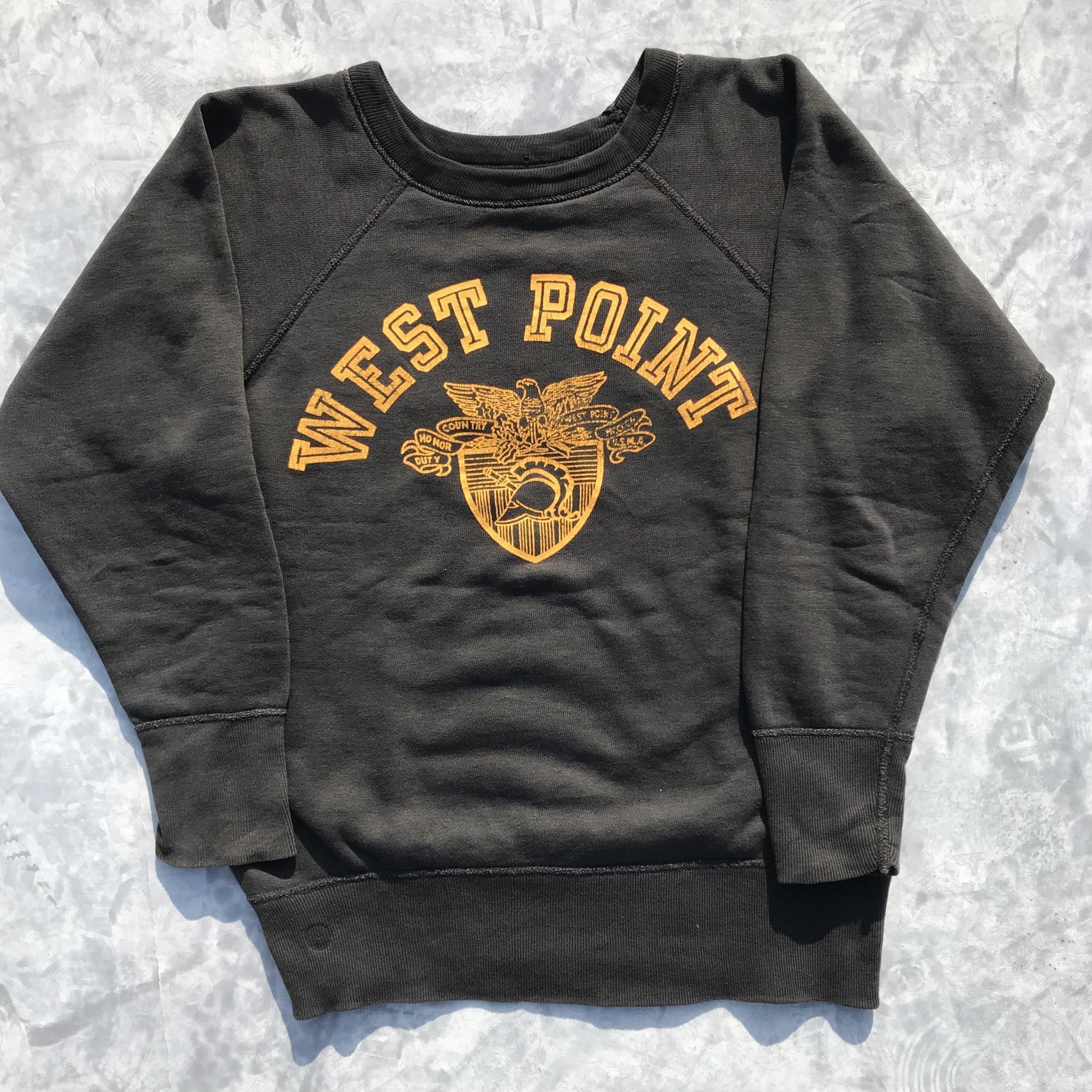 60's Champion チャンピオン カレッジ スウェット WEST POINT USMA 陸軍士官学校 ランタグ C中 Mサイズ