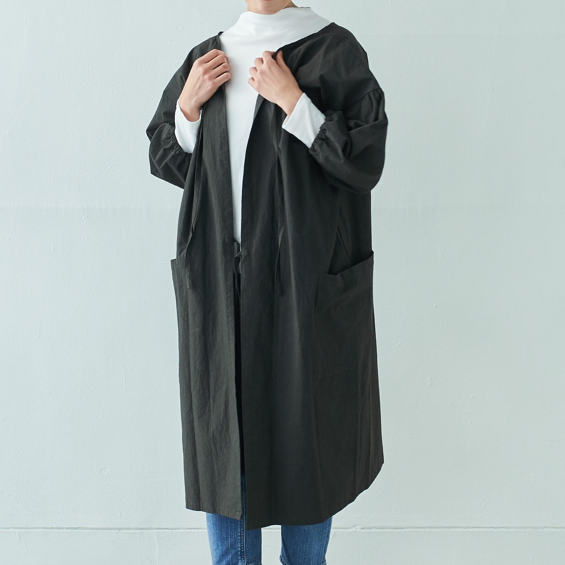エプロンコート apron coat / コットン cotton