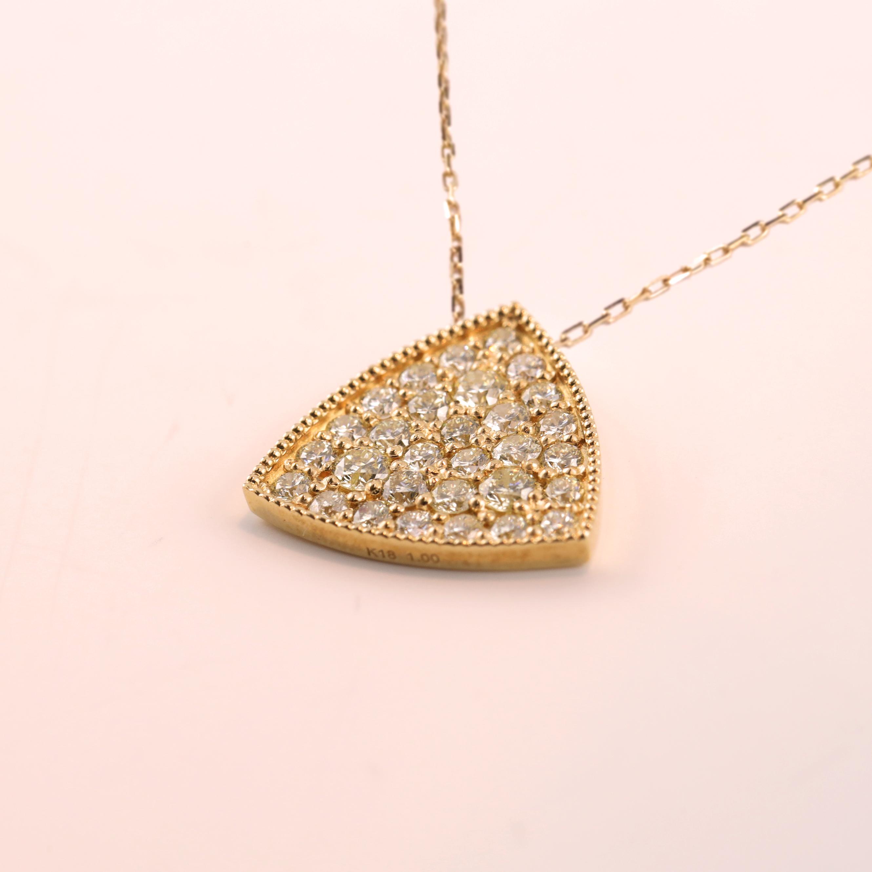 Diamond Pendant -Emblem