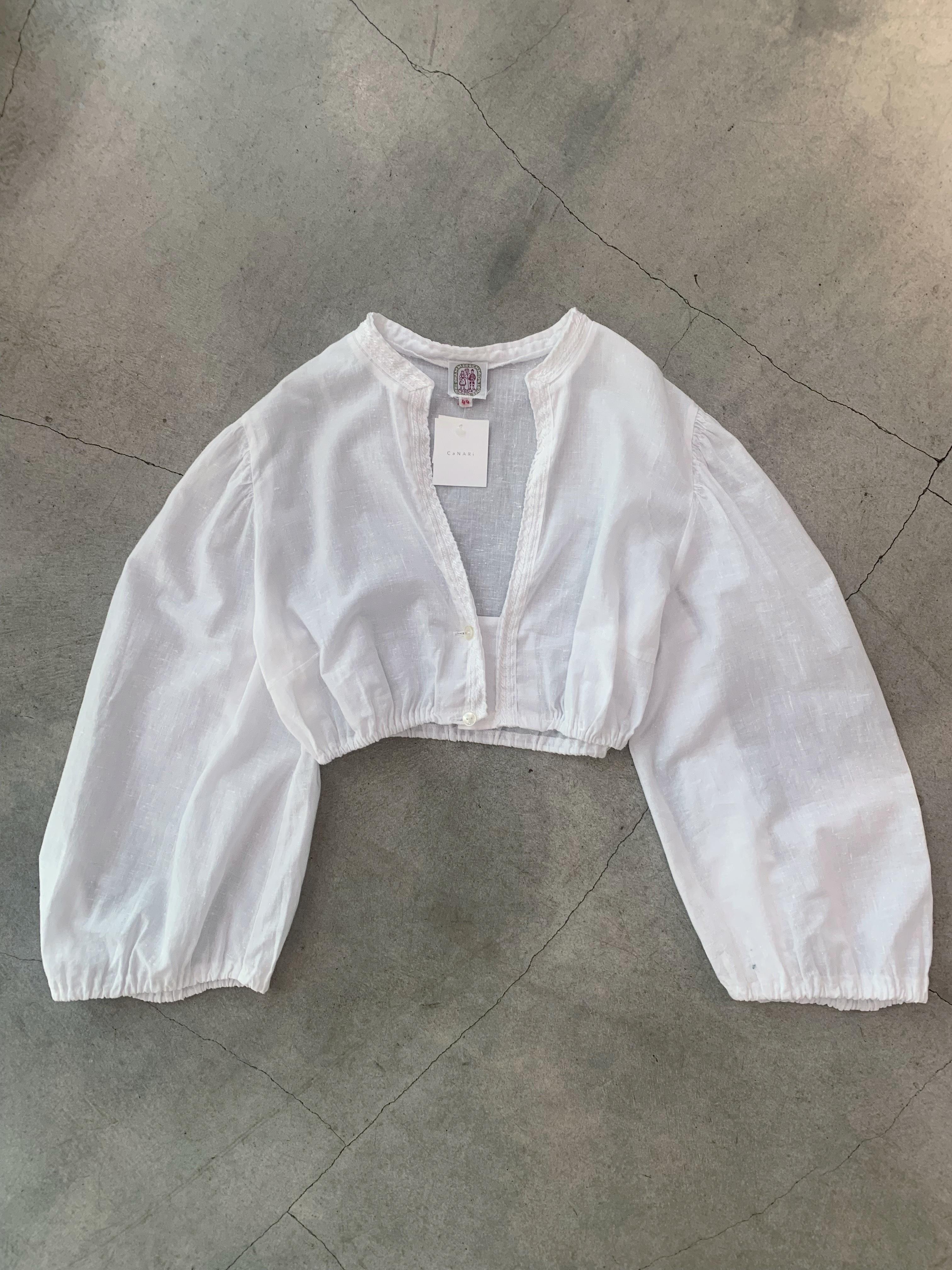 vintage short blouse