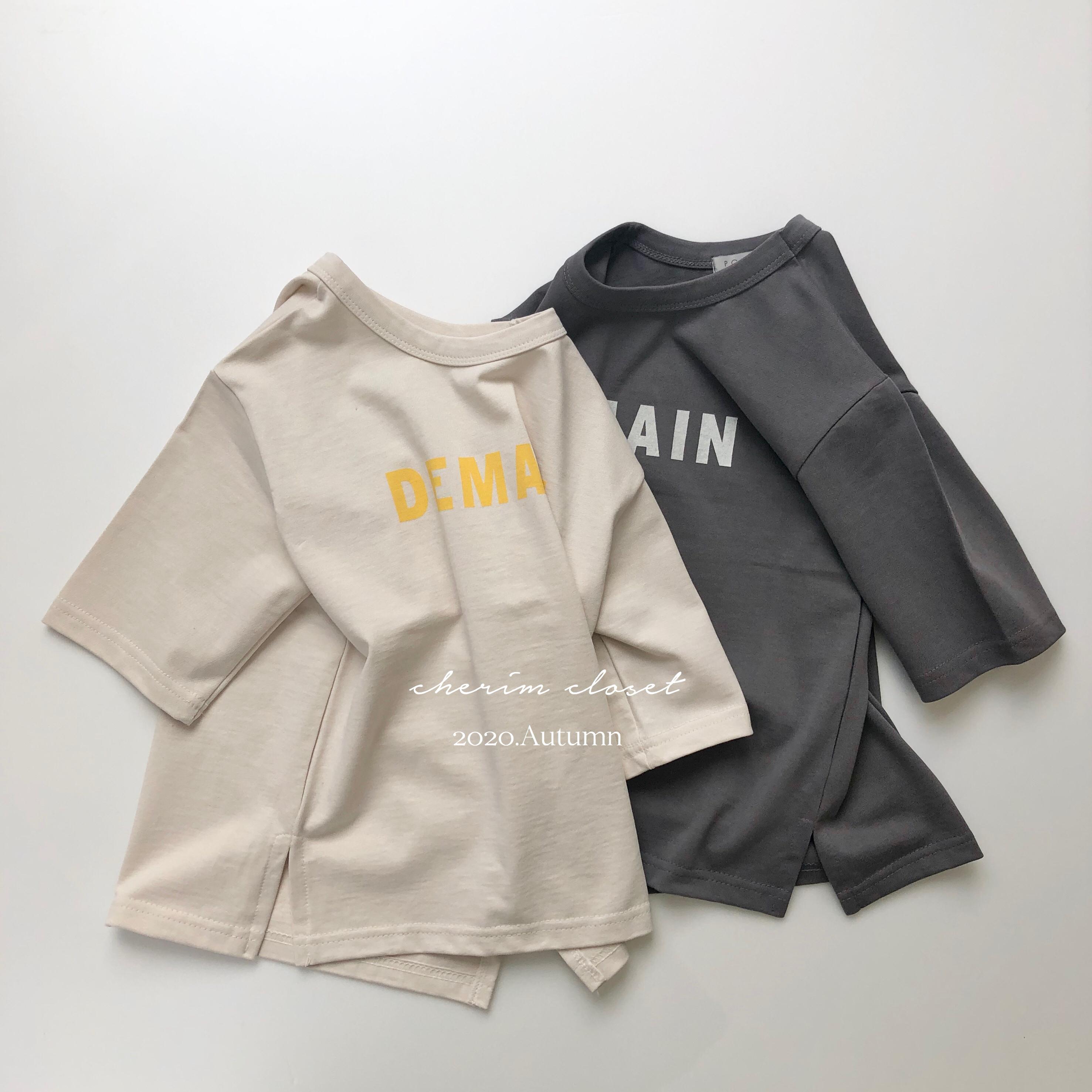 """NO.868 """" DEMAIN """" T-shirt one-piece"""